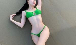 Ninh Dương Lan Ngọc gây sốt với ảnh bikini khoe body cực hot, chứng minh đẳng cấp vòng eo 54, Lê Giang còn phải bất ngờ