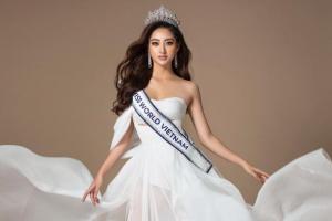 """""""Bắn"""" tiếng Anh cực giỏi, Lương Thùy Linh vẫn trượt suất vào thẳng top 40 Hoa hậu Thế giới 2019"""