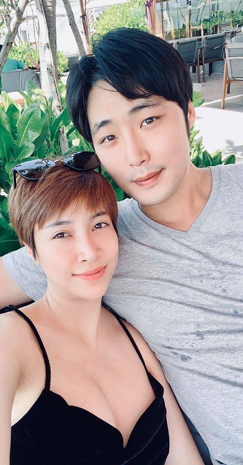 Pha Lê và bạn trai Hàn Quốc được loạt sao Việt khen có tướng phu thê